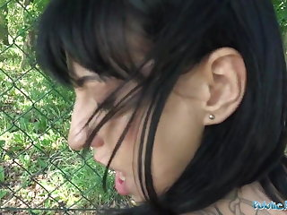 Public Agent Sweet ass babe with great tits fucked against f